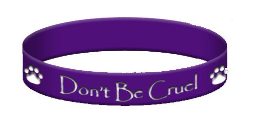 Don't Be Cruel Purple Bracelet