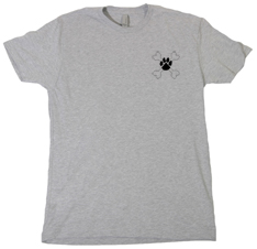 Don't Be Cruel Paw and Crossbone Men's T-Shirt