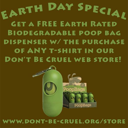 Earth Rated Dispenser and Poop Bags - Don't Be Cruel Store