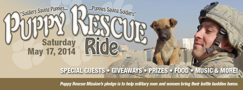 Puppy Rescue Motorcycle Ride