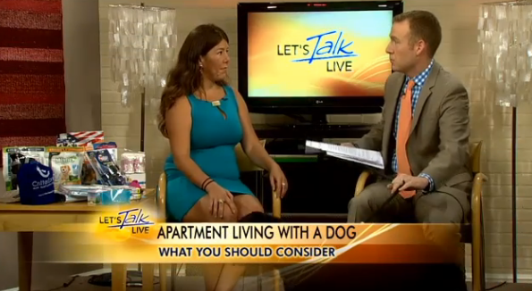 Pet Expert, Dana Humphrey - Tips on apartment hunting and living with a dog