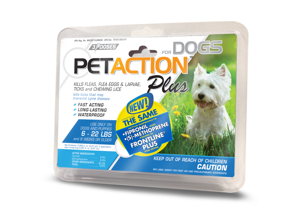 PetAction  Plus - Flea and Tick Medicine