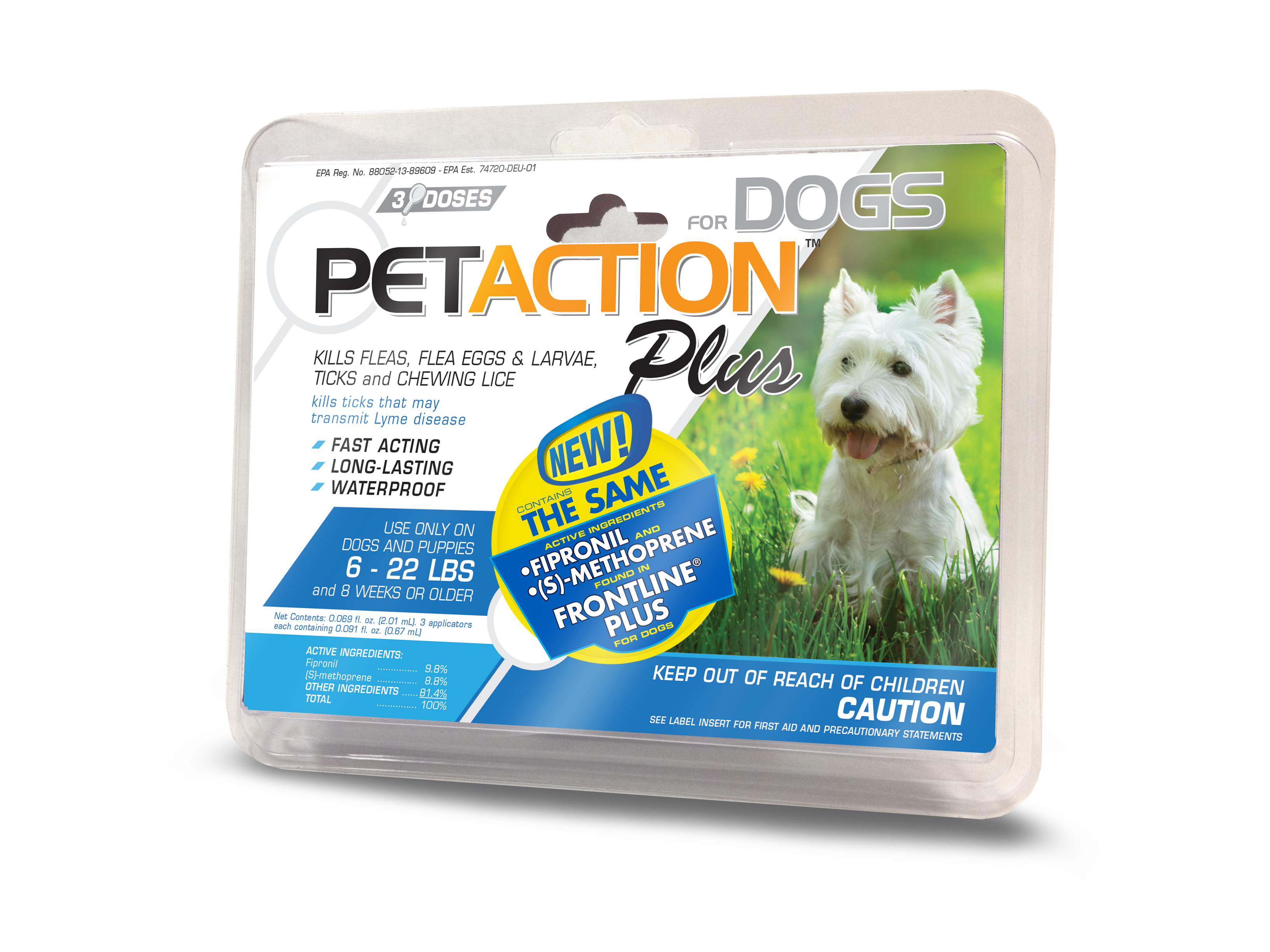PetAction Plus - Flee and Tick Medicine
