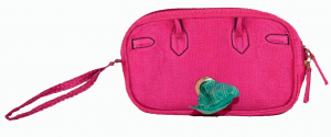 A Pet with Paws Pink Wristlet Poop Bag