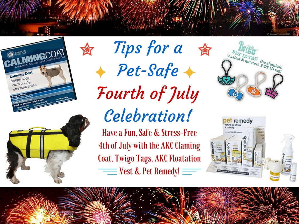 Tips for a Pet Safe Fourth of July Celebration