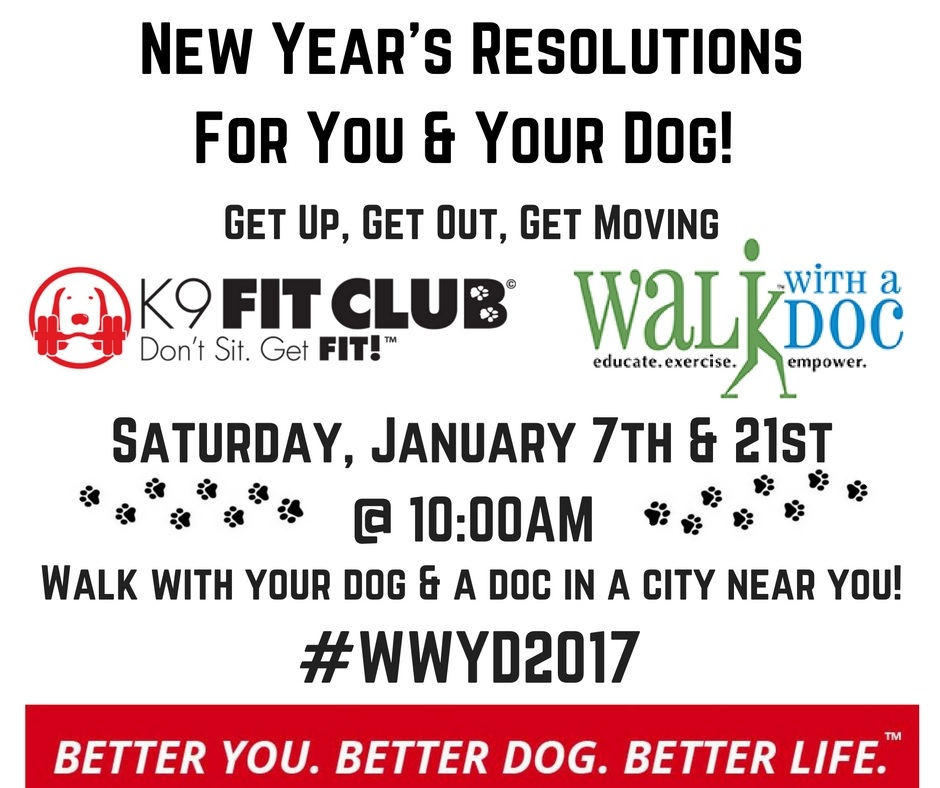 Walk With a Doc - K9 Fit Club