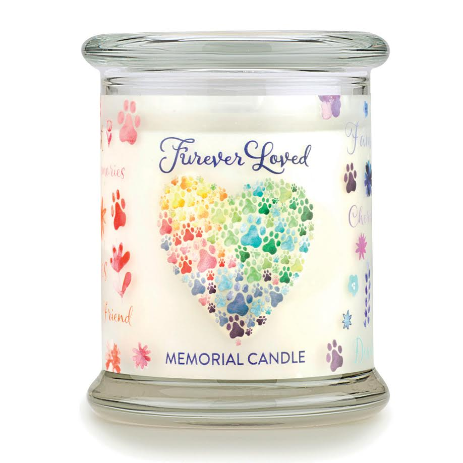 Forever Loved Memorial Candle