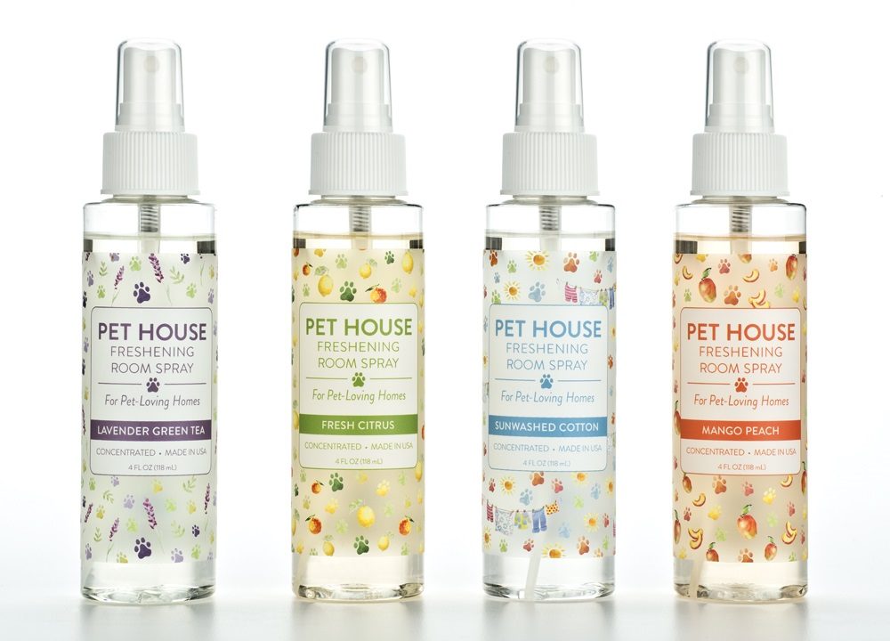 Pet House Freshening Room Spray