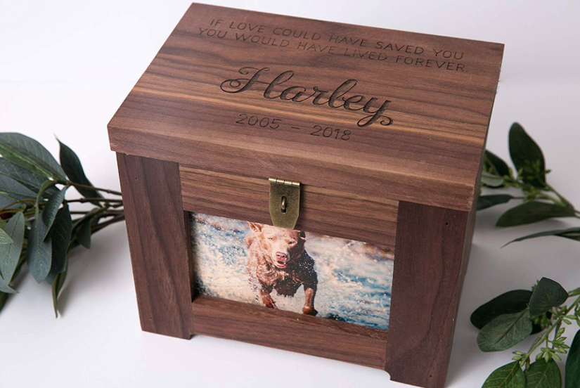 Pet Memorial by Cades and Birch